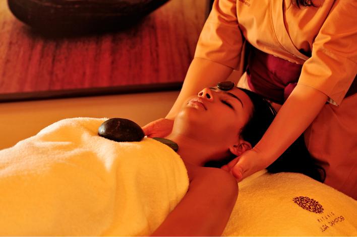 Massagem Stone Therapy