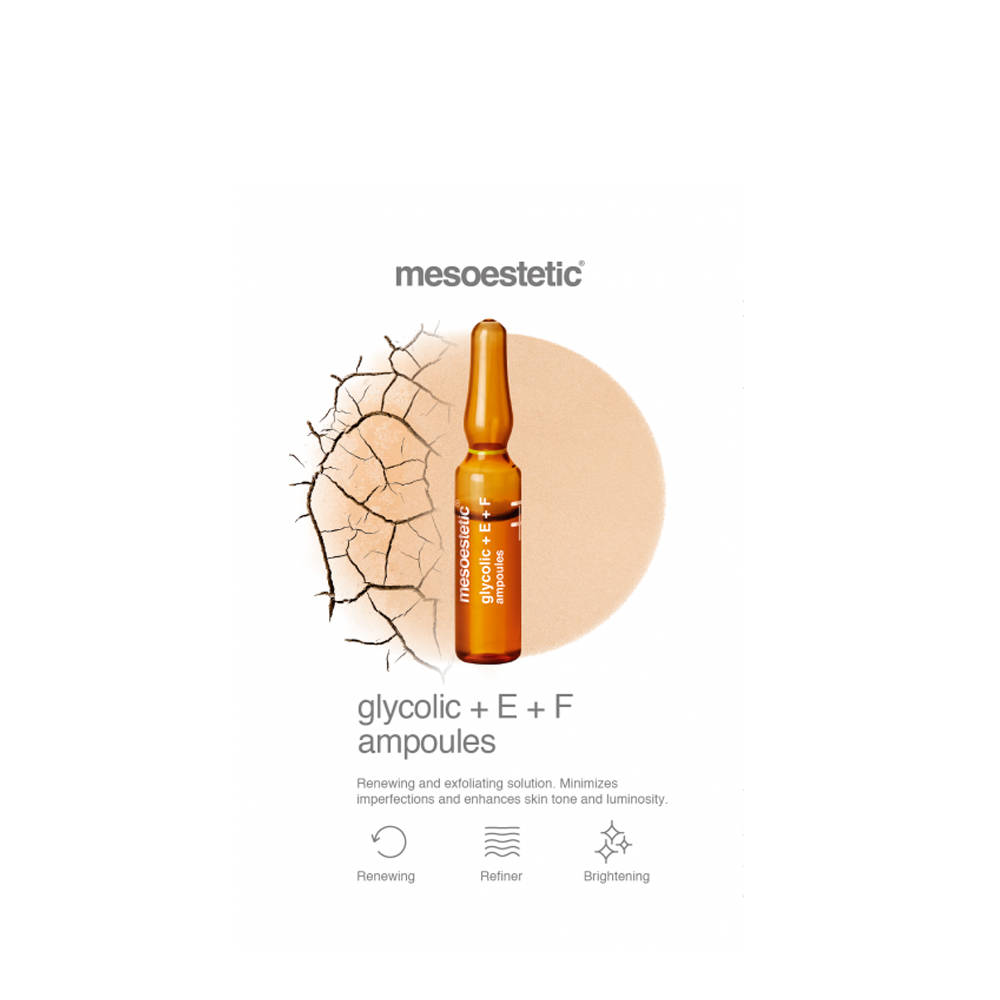 Glycolic+E+F Ampoules mesoestetic